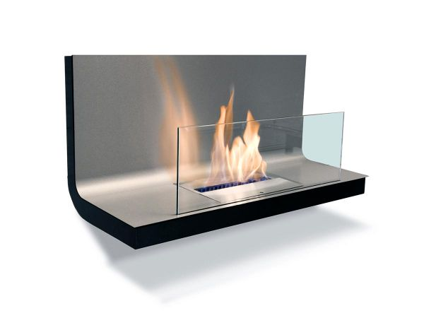 Ethanol Kamin Wall Flame 1 Radius Design