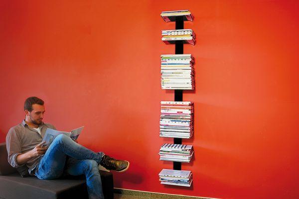 Booksbaum Magazin Wand groß