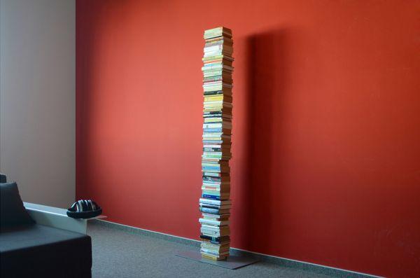 Booksbaum 2 Stand groß Silber mit Bücher