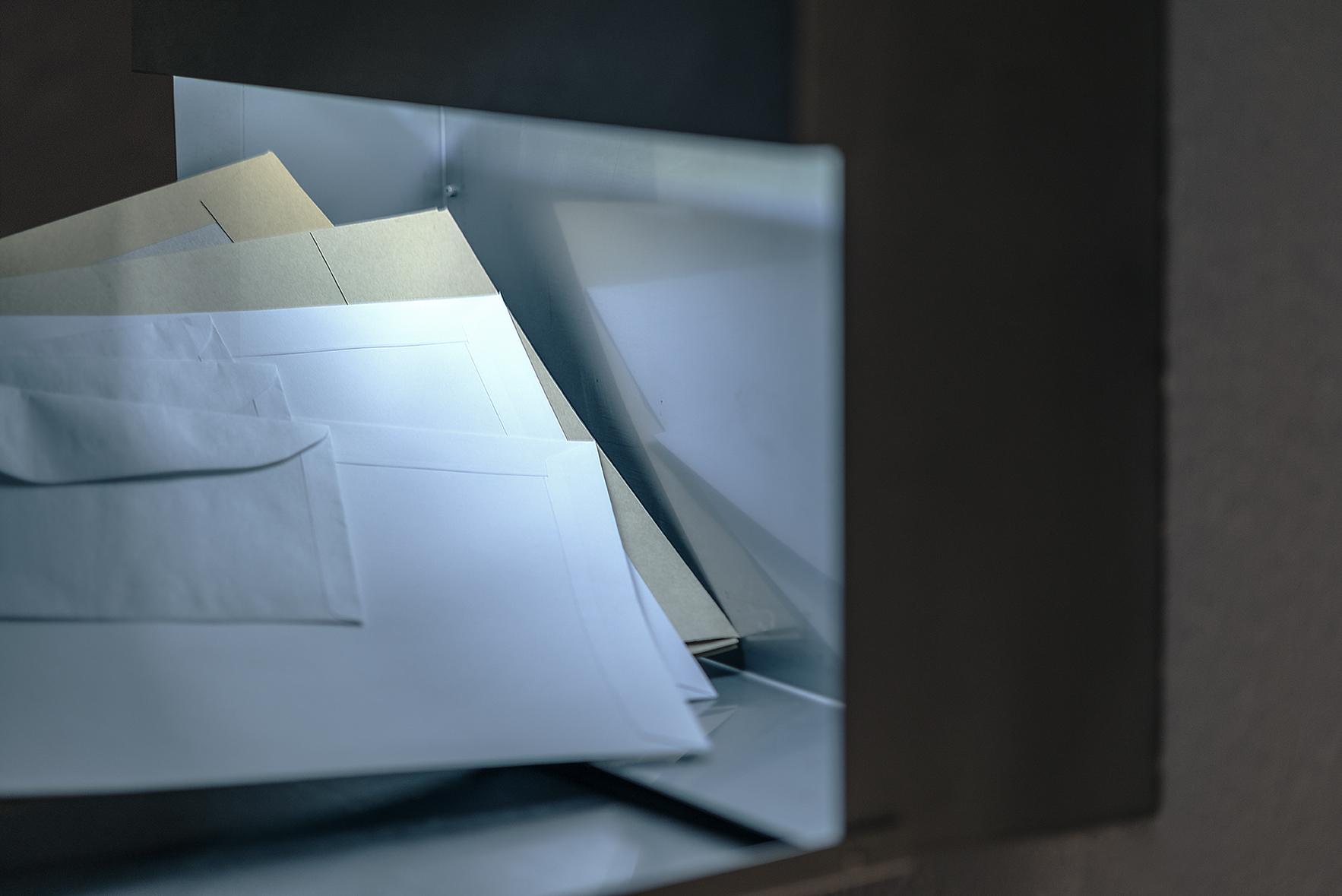 Briefkasten Letterman 5 Anthrazit von Radius Design | designbowl
