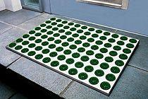 Fußmatte Feet-Back 1 Hellgrün