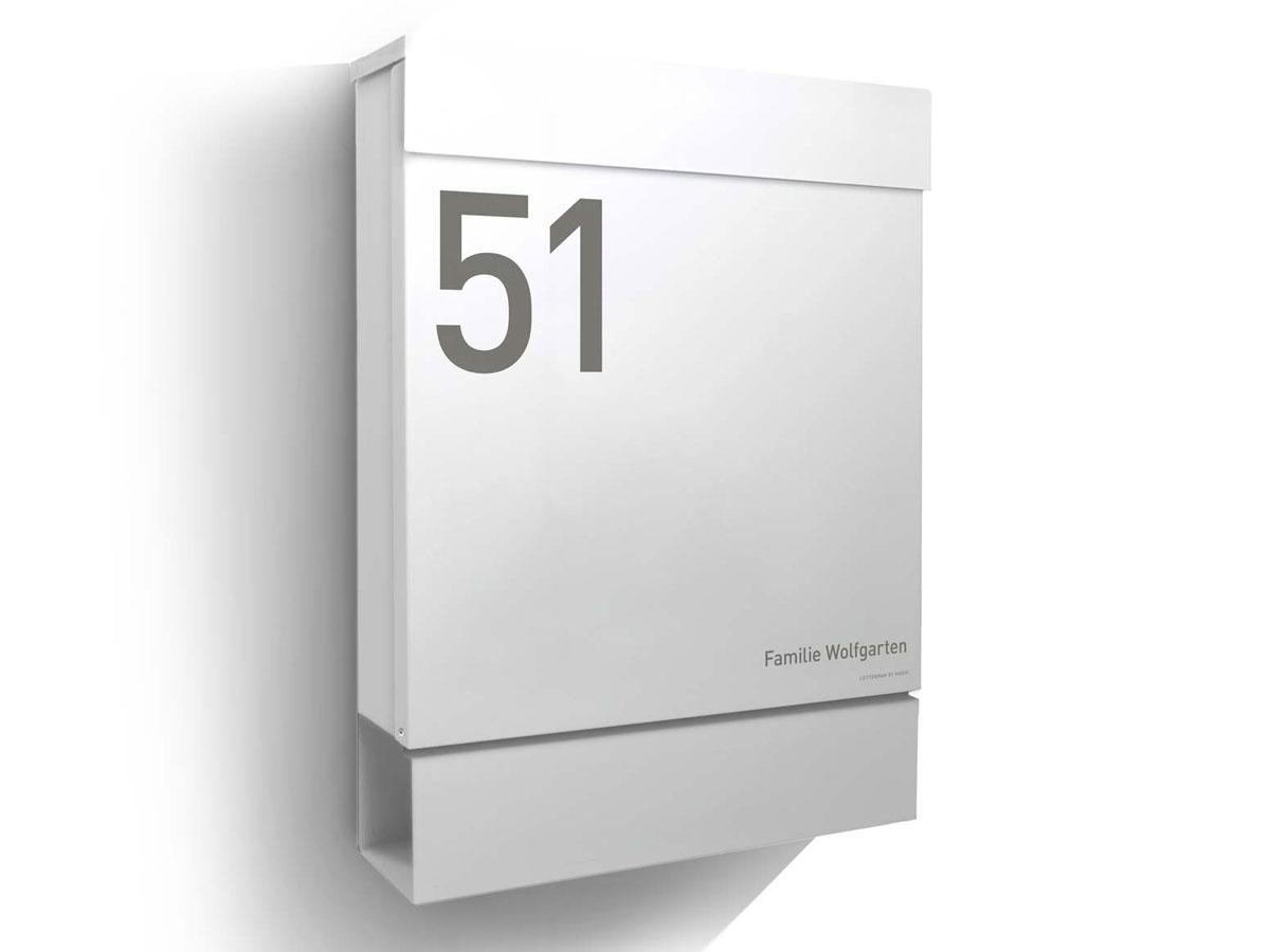 Briefkasten-Letterman-M-Gravur-Radius-Design