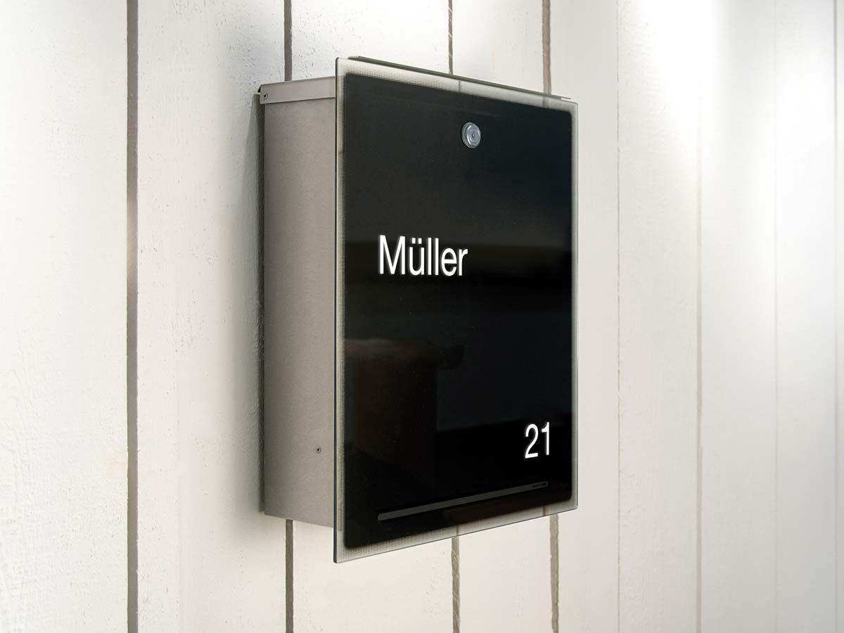 Briefkasten Letterman 3 in Schwarz von Radius Design ...