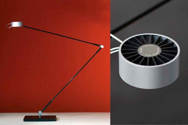 ABSOLUT LIGHTING LED Schreibtischleuchte matt