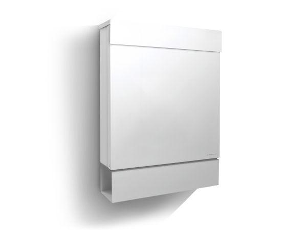 Letterman M Briefkasten Weiß