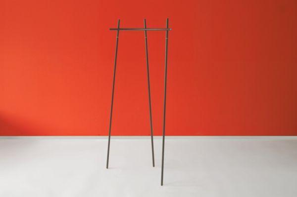Garderobe Radius 1 - schwarz