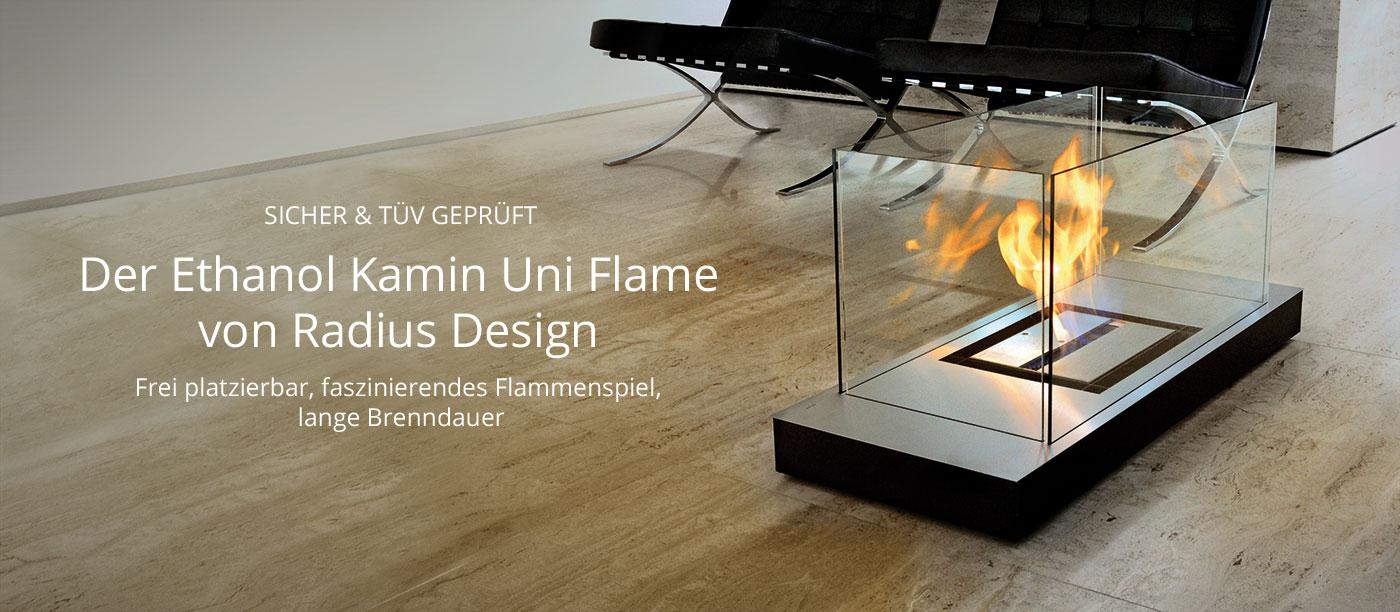 Ethanol Kamin Uni Flame