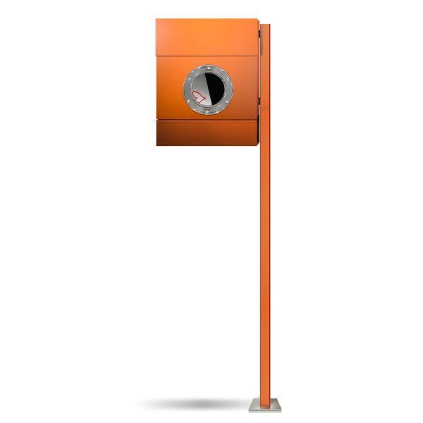 Standbriefkasten Letterman 2 Orange