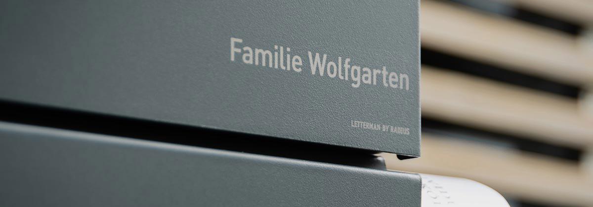 Designer Briefkasten Edelstahl - Langlebigkeit und Eleganz ...
