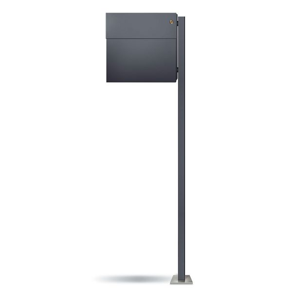 Standbriefkasten Letterman 4K Anthrazit inkl. LED-Licht