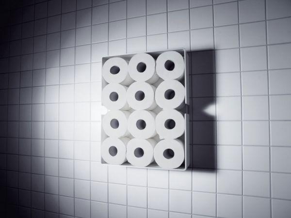WC-Rollenreservoir - klebend