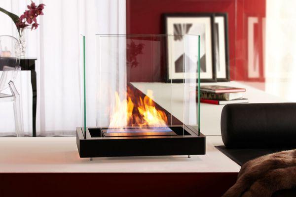 Top Flame Edelstahl/Schwarz
