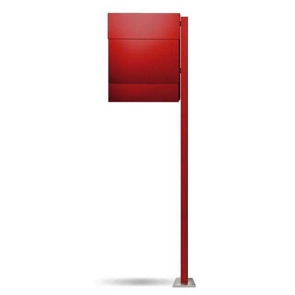 Letterman 5 Standbriefkasten Rot