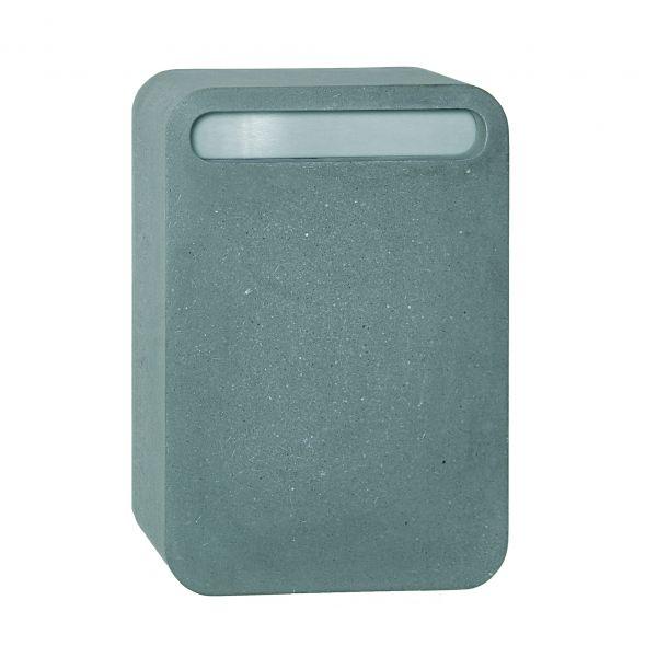 Briefkasten Concret - Beton, steingrau