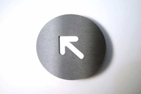 Piktogramm Left Corner