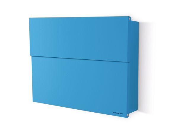 Briefkasten Letterman XXL 2 Blau