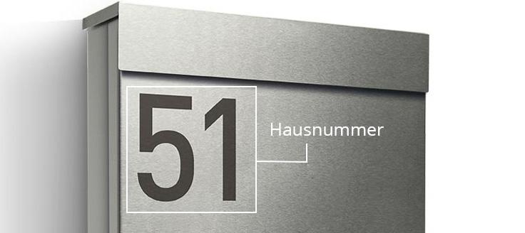 Briefkasten Letterman M in Edelstahl von Radius Design | designbowl
