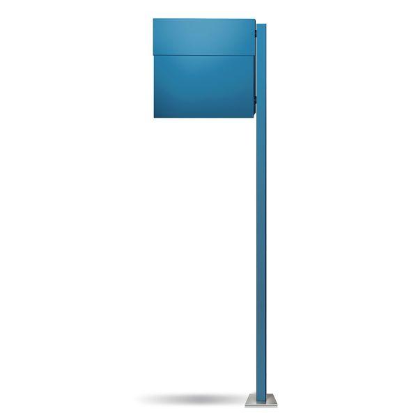 Letterman 4 Standbriefkasten Blau