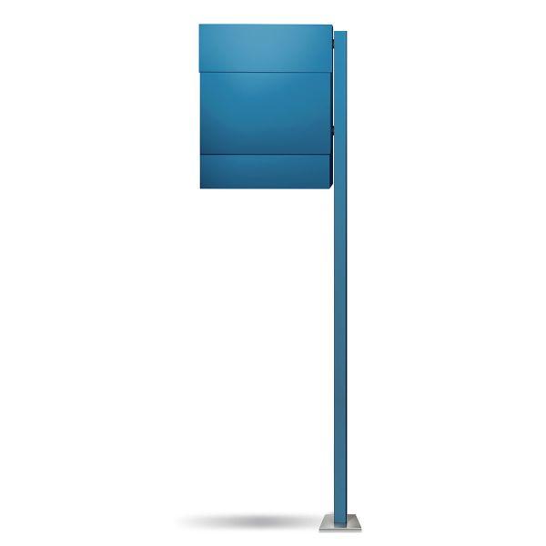 Letterman 5 Standbriefkasten Blau