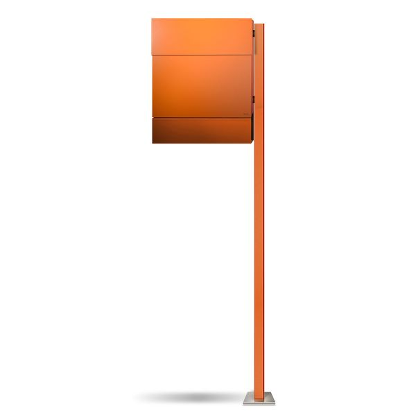 Letterman 5 Standbriefkasten Orange