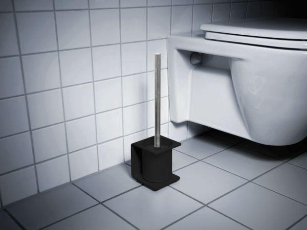 WC Bürstenhalter von Radius Design in schwarz