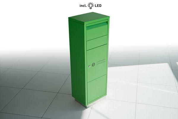 Paketbriefkasten inkl. LED Licht