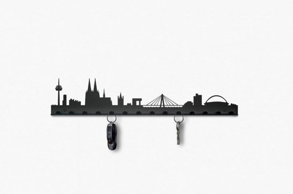Skyline Schlüsselbrett Köln